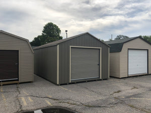 14x24 Painted Garage - QP343