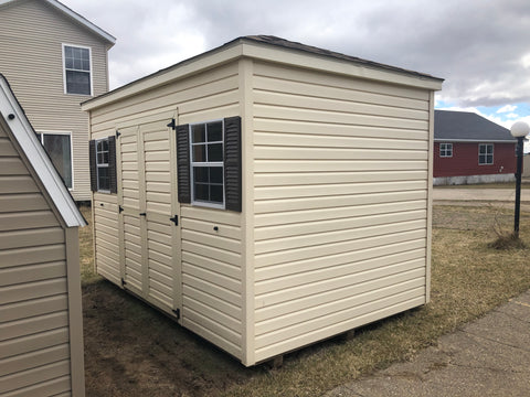 8x12 Vinyl Hip Barn - Rental Return