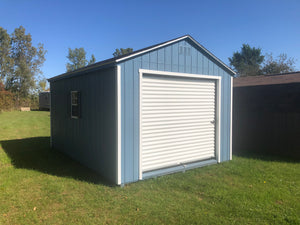 12x16 Painted Garage