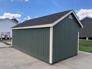 10x20 Painted Carriage House w/ Deluxe