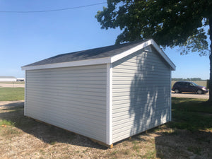 12x16 Vinyl Cottage Workshop w/ Deluxe