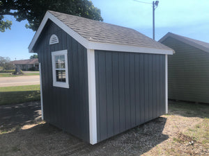 8x10 Painted Carriage House w/ Deluxe