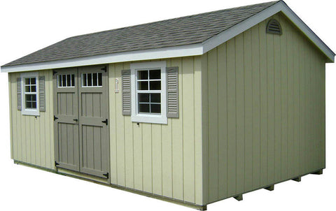 Cottage Workshop - Painted w/ Deluxe Pkg
