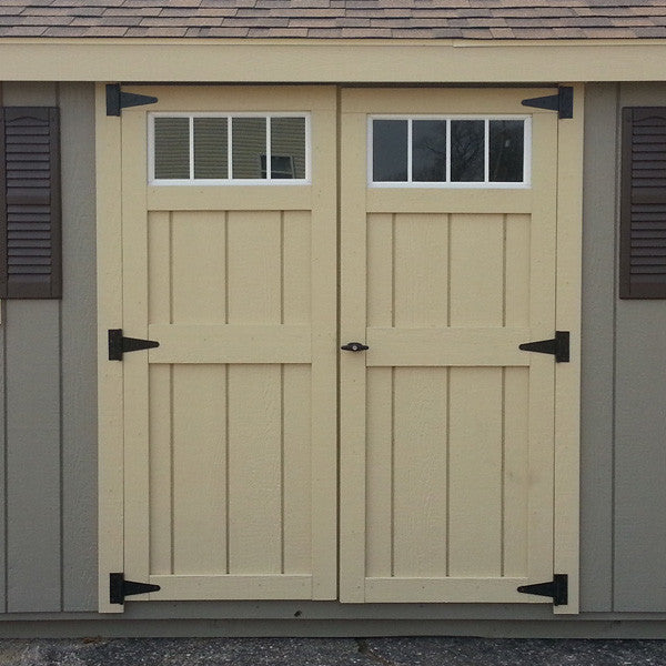 Duratemp Elite Doors w/  Transom Windows