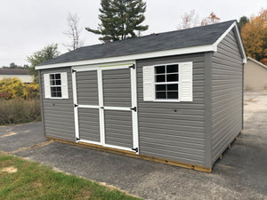 12x16 Vinyl Cottage Workshop - QP518