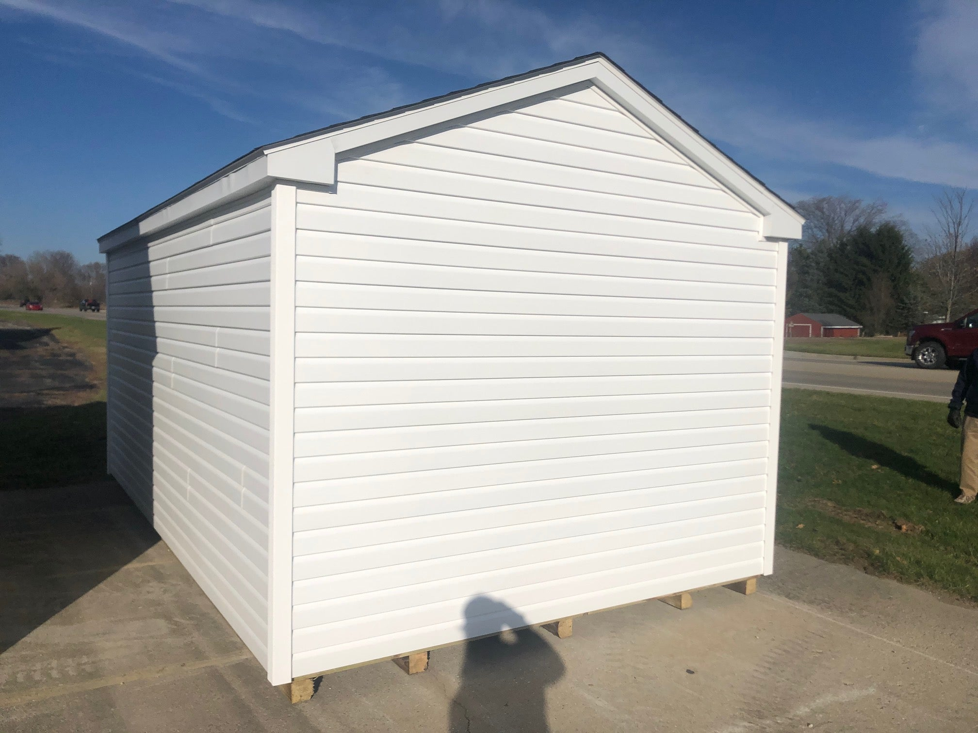 10x16 Vinyl Cottage Workshop