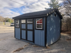 10x12 Painted Cottage Workshop w/ Deluxe - Rental Return