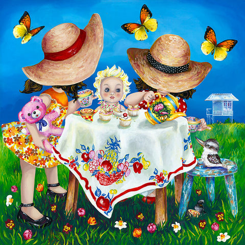Hayley Gillespie - Afternoon Tea - Limited Edition of 99 - various sizes