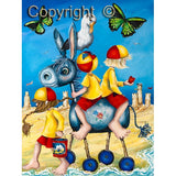 Hayley Gillespie - Donkey Ride - Limited Edition of 99 - various sizes