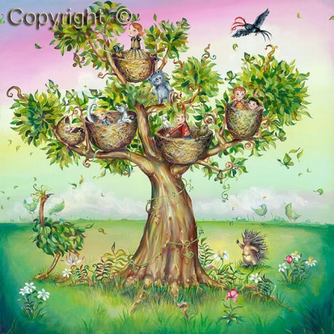 Hayley Gillespie - Family Tree - Limited Edition of 99 - various sizes