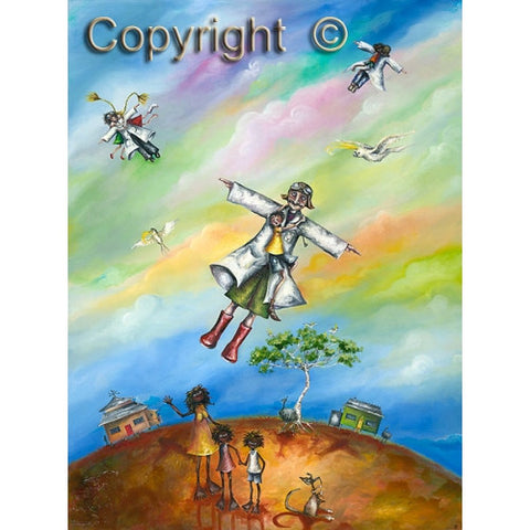 Hayley Gillespie - Flying Doctors - Limited Edition of 99 - various sizes