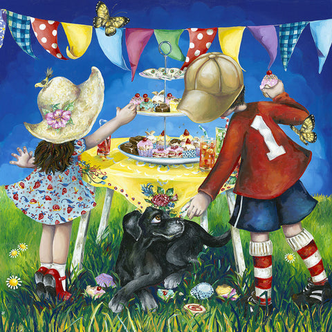 Hayley Gillespie - Tea Party - Limited Edition of 99 - various sizes