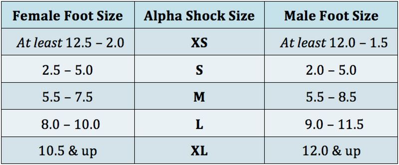 Apolla Alpha Shock- With Traction