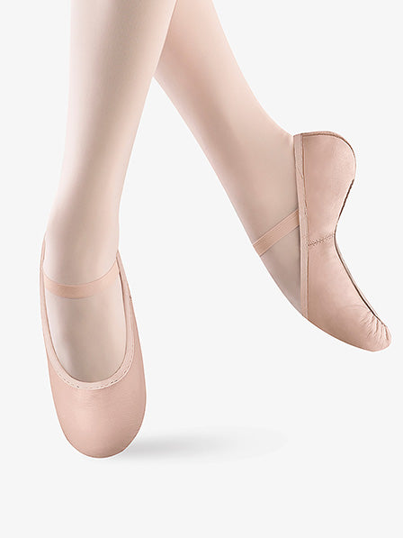 Bloch- Girls Belle Leather Ballet Shoes