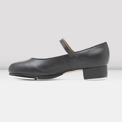 "Bloch ""Tap-On"" Girls' Tap shoe- Black or Tan"