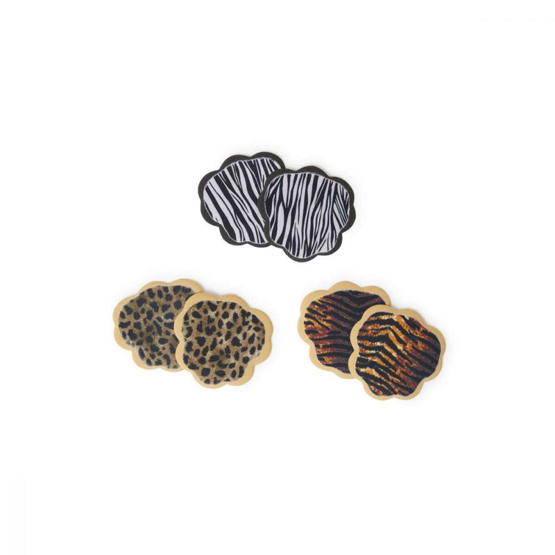 Tip Toes Ball-of-Foot Cushions 3 Pk. Animal Print