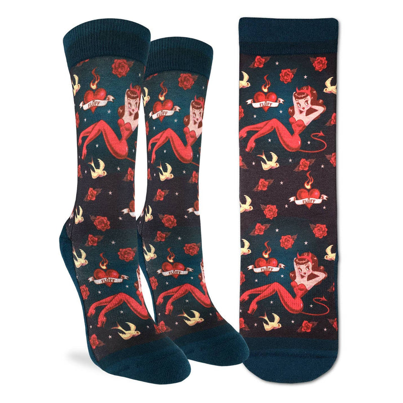 Good Luck Sock; Women's- She Devil