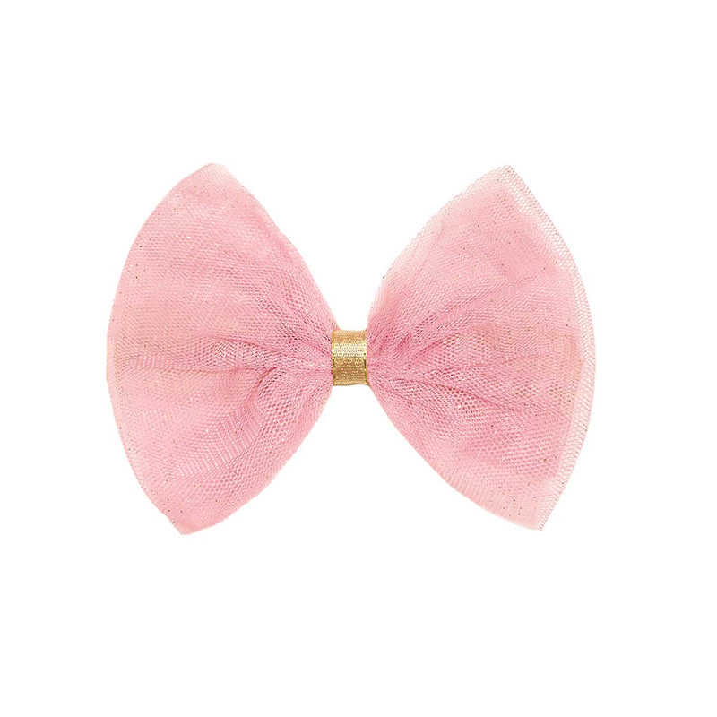 Blush Pink Bow Clip