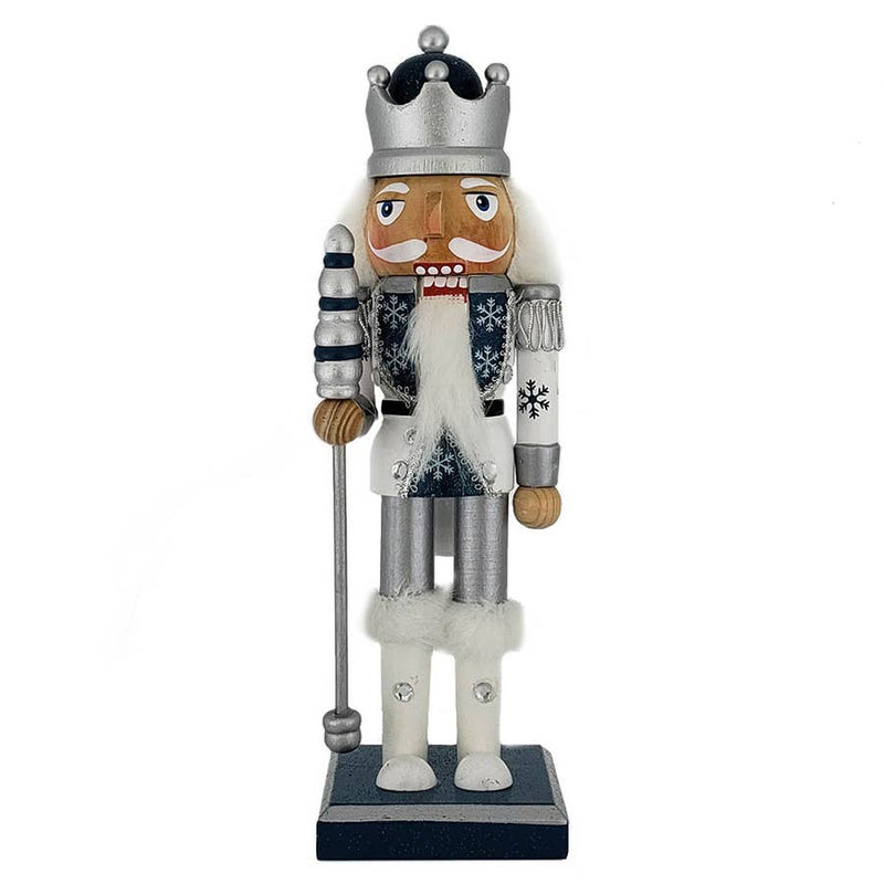Snow Fantasy King Nutcracker 10""