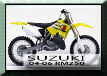 Suzuki 04-06 RM250 Rad Guards