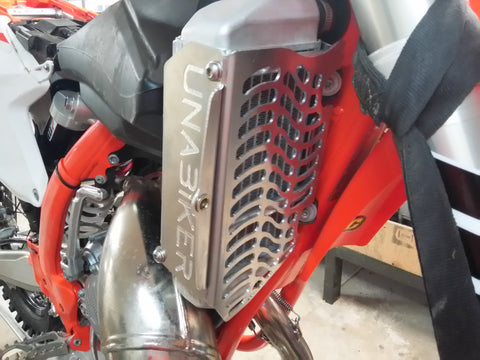 Unabiker 18 KTM 85 SX Radiator Guards
