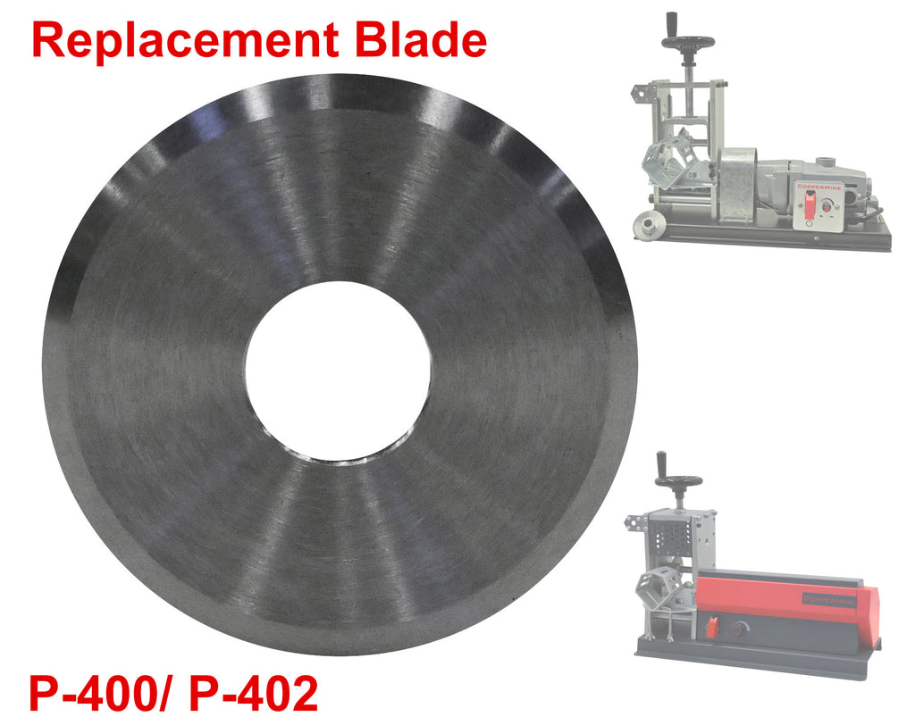 Replacement Blades for CopperMine's Tabletop Wire Stripper Model 400 series