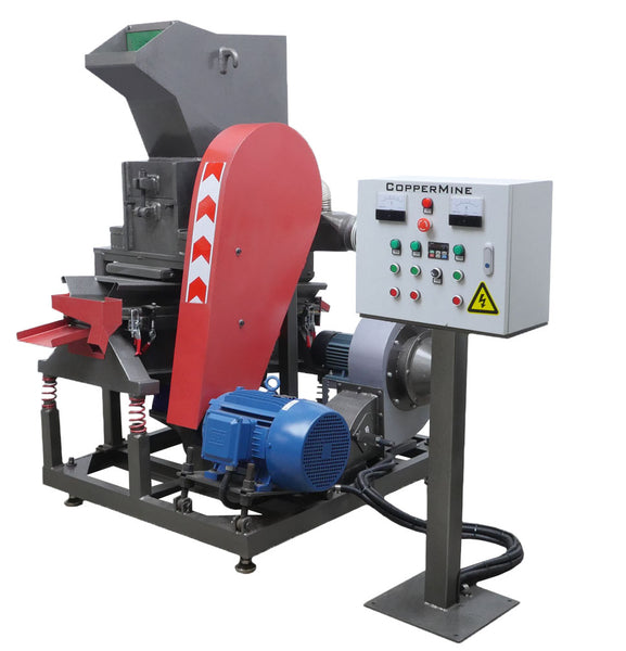 Industrial Copper Wire Granulator for Copper Recovery