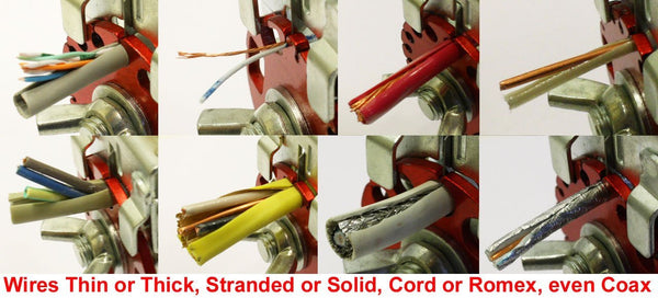 Manual Pull Copper Wire Stripping Machine Combo