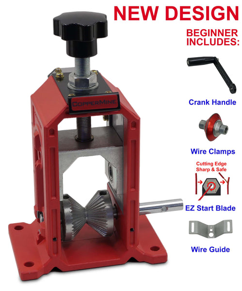 CopperMine Beginner Manual Hand Crank Copper Wire Stripping Machine