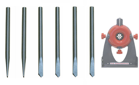 6 Regular Tip Replacement Blades for CopperMine Model 210