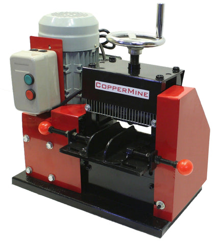 Large Cable Wire Stripping Machine Strips up to 3 1/2""