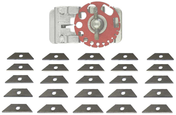 25 Premium Replacement Blades for CopperMine Model 101 & 102