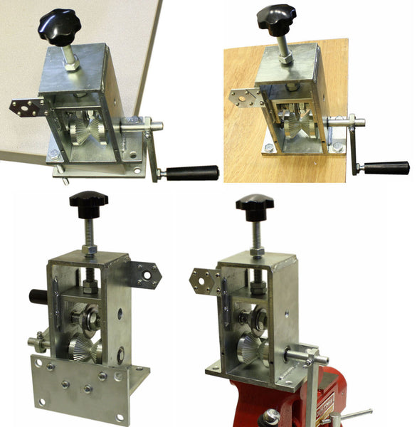 The CopperMine Manual Crank & Drill Copper Wire Stripping Machine