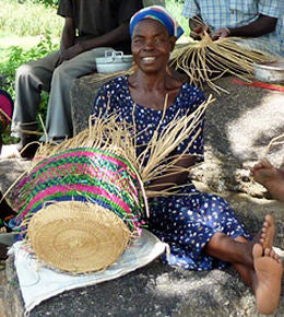 Ghana Fair Trade Basket Weavers