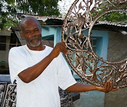 Hubert Bernard | Haiti Oil Drum Art Artisan