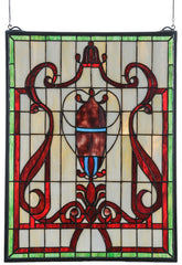 36196 Baroque Stained Glass Window by Meyda Lighting | 18x24 inches