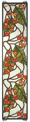 35971 Bittersweet Stained Glass Window by Meyda Lighting | 9x42 inches