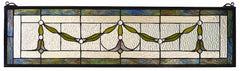 98102 Garland Swag Stained Glass Window by Meyda Lighting | 31.5x8 inches