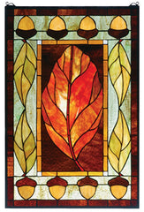 73207 Harvest Festival Stained Glass Window by Meyda Lighting | 21x31 inches