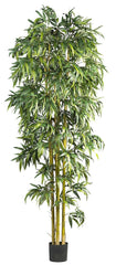 5192 Biggy Style Bamboo Artificial Silk Tree by Nearly Natural | 8 feet