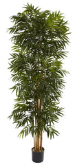 5406 Phoenix Palm Artificial Silk Tree w/Planter by Nearly Natural | 7.5 ft