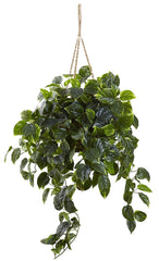 6844 Pothos Indoor Outdoor Silk Hanging Plant by Nearly Natural | 3 feet