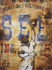 SC018 Believing is Seeing by Rodney White | Open Ed Wrapped Canvas Art