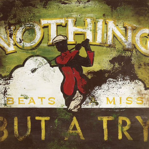 SC007 Nothing Beats a Miss by Rodney White | Open Edition Wrapped Canvas Art