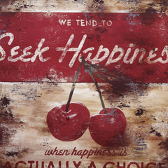 SC008 Seek Happiness by Rodney White | Open Edition Wrapped Canvas Art