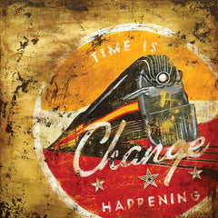 SC078 Change Happening by Rodney White | Open Edition Wrapped Canvas Art