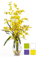 1073 Oncidium Dancing Lady Silk in Water in 4 colors by Nearly Natural| 31""