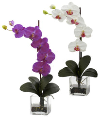 1324 Giant Phalaenopsis Silk Orchid in 2 colors by Nearly Natural | 26""
