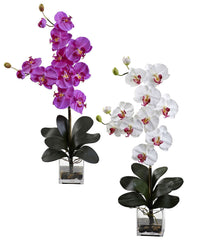 1352 Giant Phalaenopsis Orchid in 2 colors by Nearly Natural | 30.75 inches
