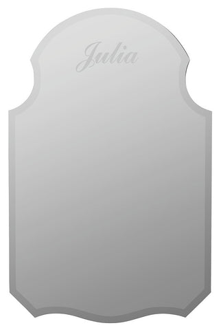 2206 Kennedy Frameless Oversized Monogram Wall Mirror by Cooper Classics